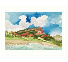 Crystal River in Colorado Art Print
