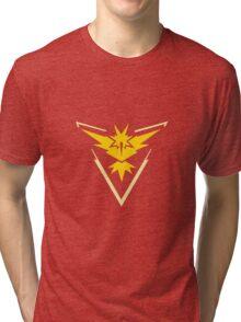 Pokemon Go: Team Instinct! Tri-blend T-Shirt