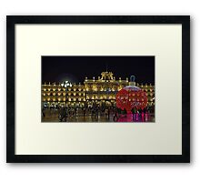 Plaza Mayor, Salamanca. Spain Framed Print