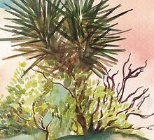 Joshua Tree in California by joelkeyart