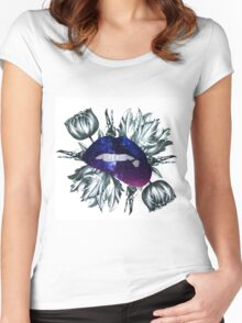 Beautiful Macabre - Kiss Me Women's Fitted Scoop T-Shirt