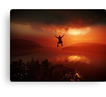 Infamous: Second Son Canvas Print