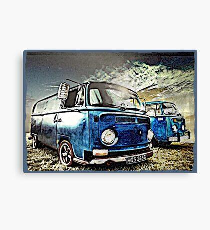 Vintage Storm Canvas Print