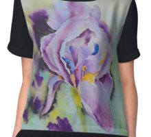Purple glory Women's Chiffon Top