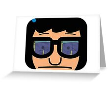 Tina Belcher Butts Greeting Card