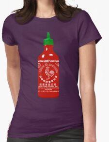 Sriracha Hot Chili Sauce T-shirt Womens Fitted T-Shirt