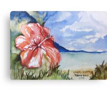 Tebiro Beach in Japan Canvas Print