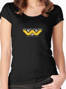 WEYLAND YUTANI CORP. Women's Fitted Scoop T-Shirt