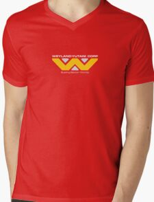 WEYLAND YUTANI CORP. Mens V-Neck T-Shirt