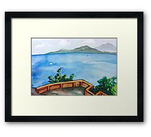 Hotel View in Thailand Framed Print