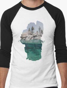 Dive Tahoe Men's Baseball ¾ T-Shirt
