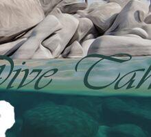 Dive Tahoe Sticker