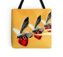 Bee Heart Tote Tote Bag