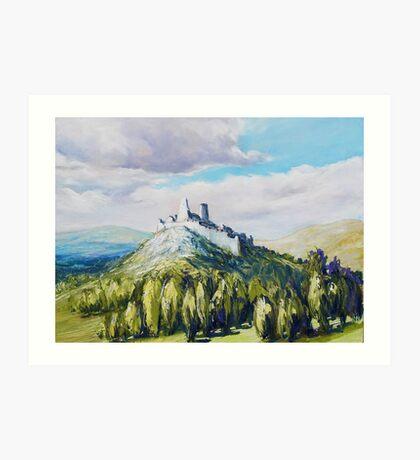 Cachtice Castle Art Print