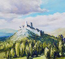 Cachtice Castle by Roman Burgan
