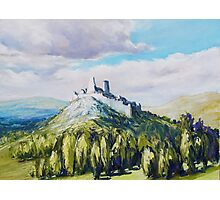Cachtice Castle Photographic Print