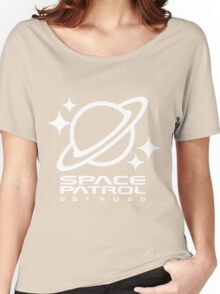 Space Patrol Ogikubo - White Women's Relaxed Fit T-Shirt