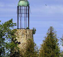 Old Bailey's Harbor Lighthouse by Kenneth Keifer