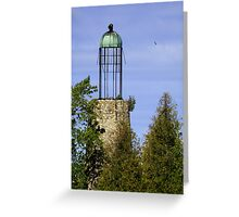 Old Bailey's Harbor Lighthouse Greeting Card