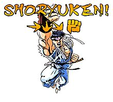Shoryuken Photographic Print
