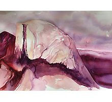 Half Dome in Pink Photographic Print
