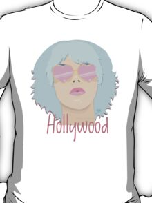 Hollywood - Blue T-Shirt
