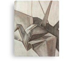 Origami Crane Canvas Print