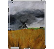 Pitstone Windmill England acrylics on paper iPad Case/Skin