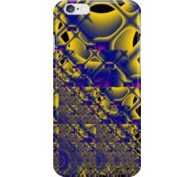 fractal - sometimes the lines become circles iPhone Case/Skin