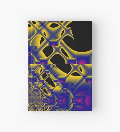 fractal - sometimes the lines become circles Hardcover Journal