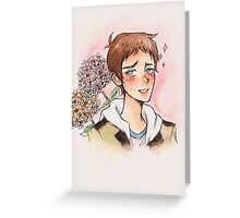Voltron - LANCE ver.2 Greeting Card