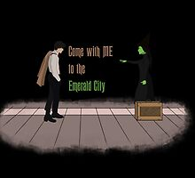Come with me, to the emerald city by Aviana52