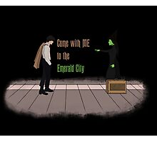 Come with me, to the emerald city Photographic Print