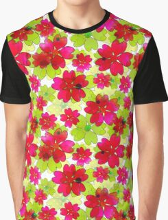Very nice bright summer floral seamless pattern. Graphic T-Shirt