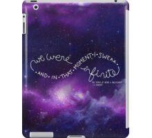 we were infinite (complete) iPad Case/Skin