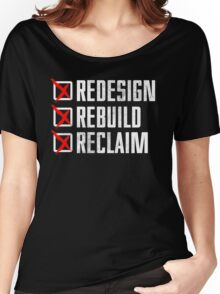 Seth Rollins - Redesign Rebuild Reclaim Women's Relaxed Fit T-Shirt