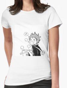 Super cute Hinata Shoyo - Nikuman Womens Fitted T-Shirt
