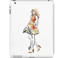The Little Floral Dress iPad Case/Skin