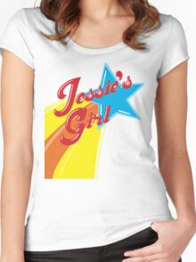 Jessie's Girl Women's Fitted Scoop T-Shirt