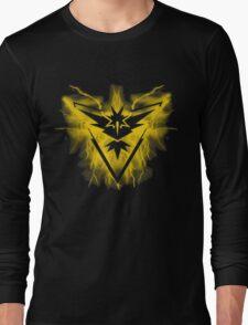 Team Instinct Pokemon Long Sleeve T-Shirt