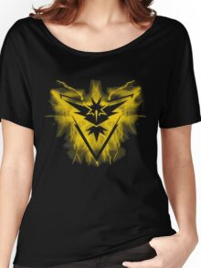 Team Instinct Pokemon Women's Relaxed Fit T-Shirt