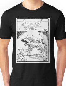 Pengiun Action comics Unisex T-Shirt
