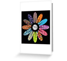 Texture Flower Greeting Card