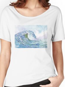 The Ocean's pulse Women's Relaxed Fit T-Shirt