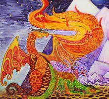 Klimt dragons by dragongirl222