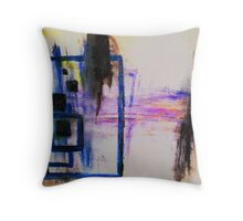 The Sound of the Ocean Throw Pillow