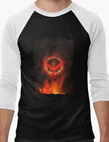 Flame... Men's Baseball ¾ T-Shirt