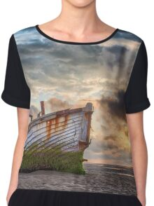 Meols Sunset Chiffon Top