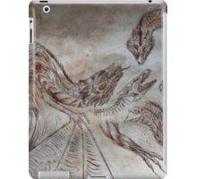 medieval dragons iPad Case/Skin