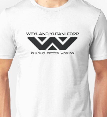 Weyland Yutani - Black Logo Unisex T-Shirt